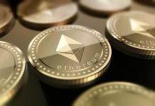 Ethereum coins concept art