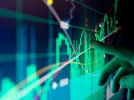 stock market graph asian stocks movements