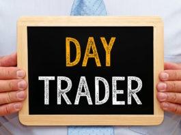 day trader written on board