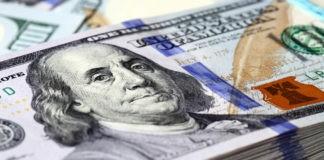 bundle of dollar bills closeup